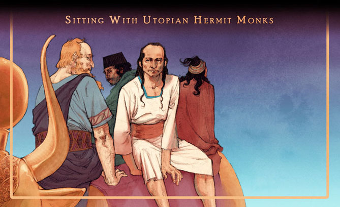Sitting With Utopian Hermit Monks